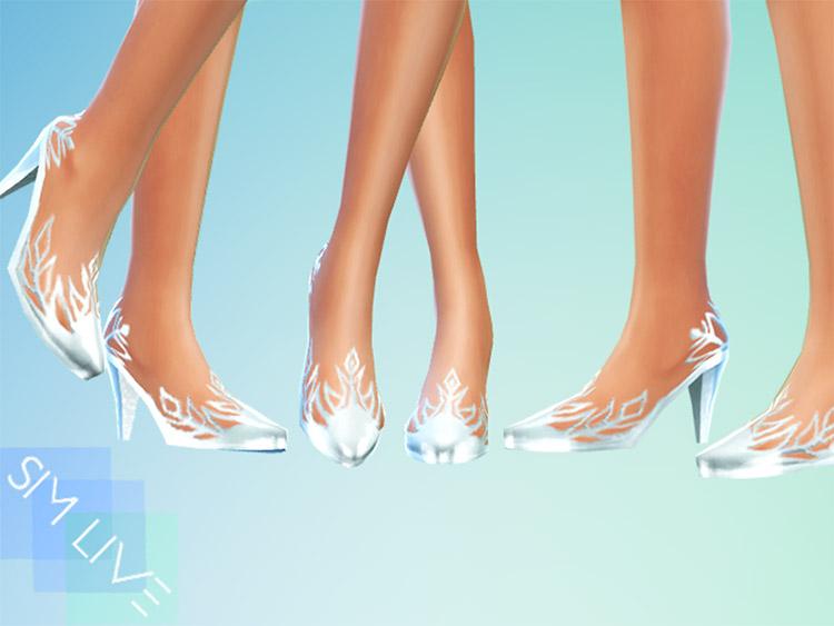 Elsa Heels from Frozen / Sims 4 CC