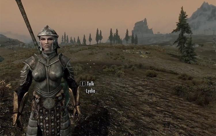 Essential Lydia Mod for Skyrim SSE