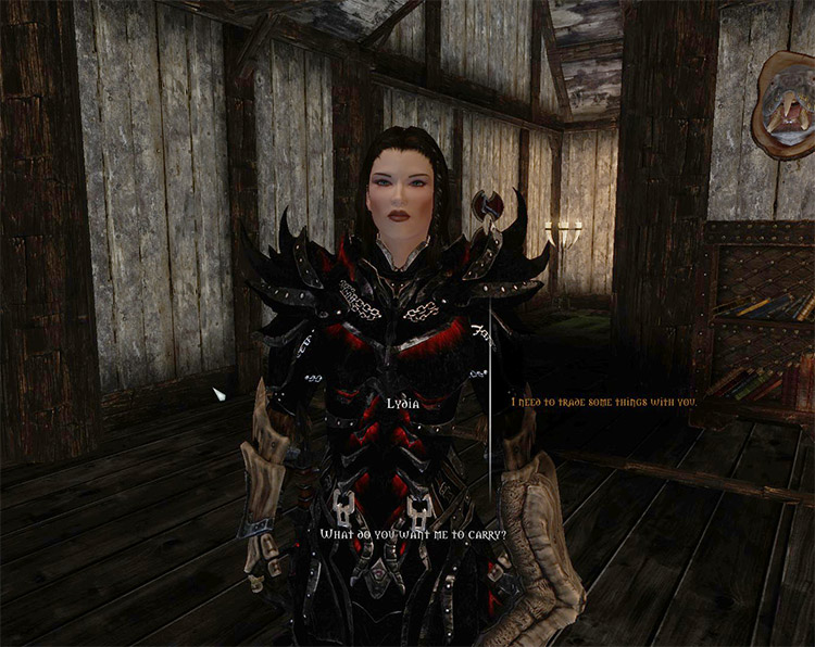 Less Annoying Lydia Mod Preview