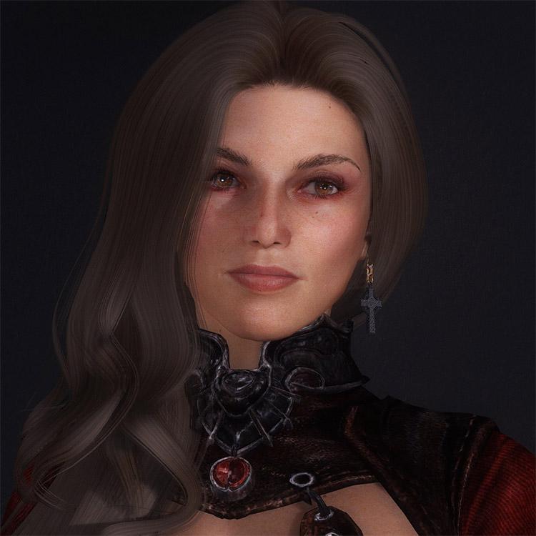 Marianne as Lydia Modded into Skyrim