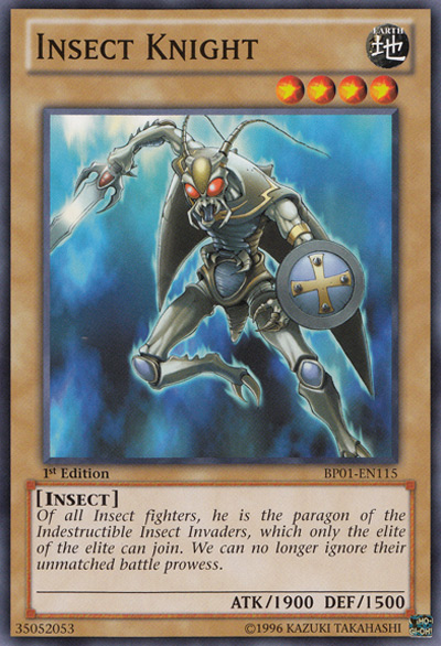 Insect Knight Yu-Gi-Oh Card