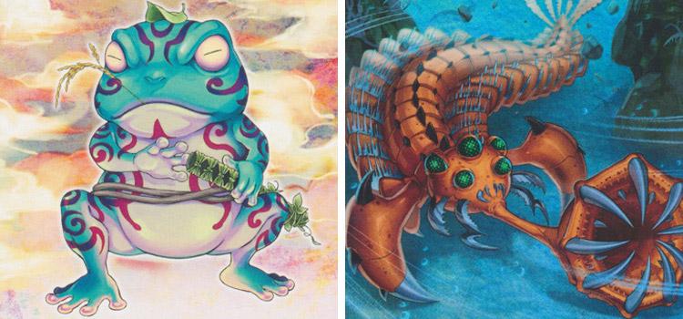 Ronintoadin and Paleozoic Opabinia YGO