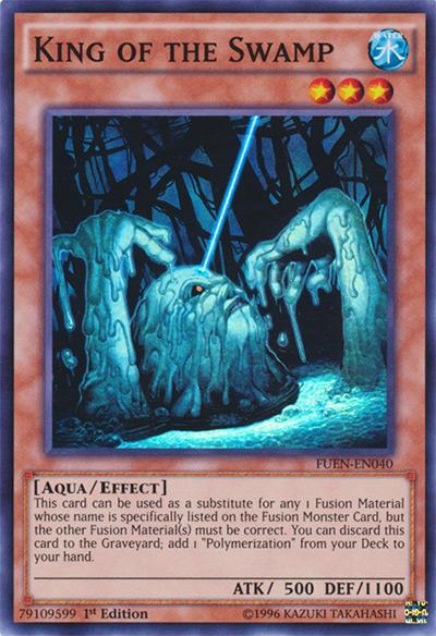 King Of The Swamp Yu-Gi-Oh Card