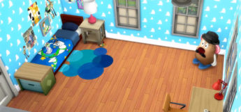 Andys Room Build from Toy Story / Sims 4 Screenshot