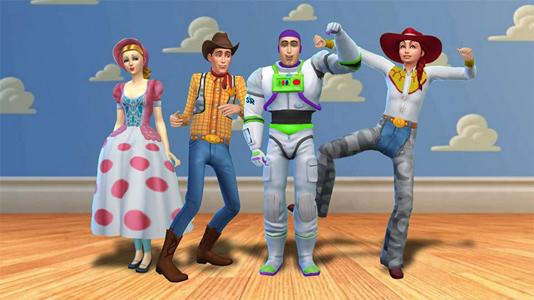 Toy Story Collection Pack / Sims 4 CC