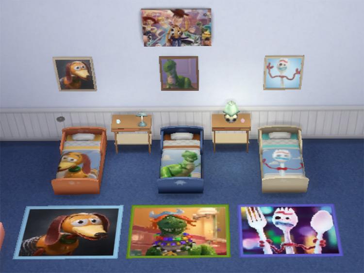 First Set Toy Story / TS4 CC