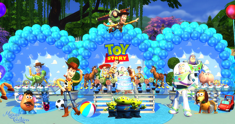 Toy Story Party for Sims 4