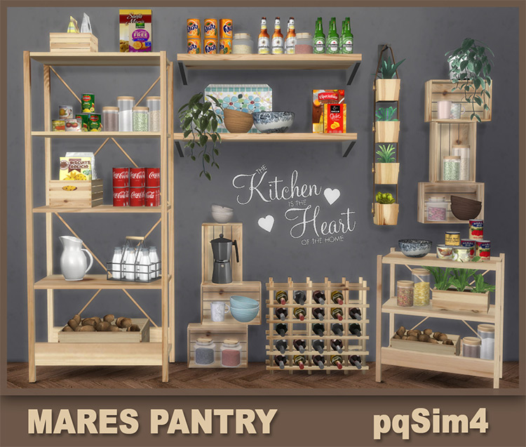 Mares Pantry / Sims 4 CC