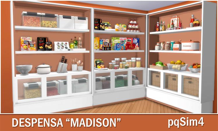 Pantry Madison Set / Sims 4 CC