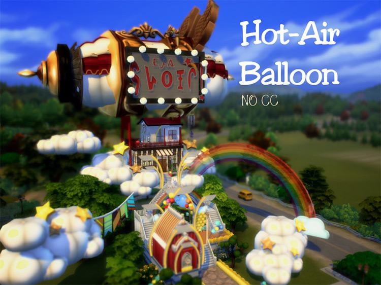 Hot Air Balloon Lot / ims 4