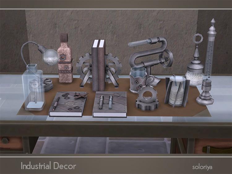 Industrial Decor / Sims 4 CC