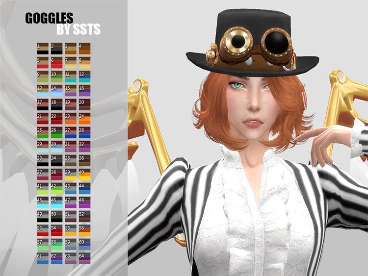 Steampunk Goggles / Sims 4 CC