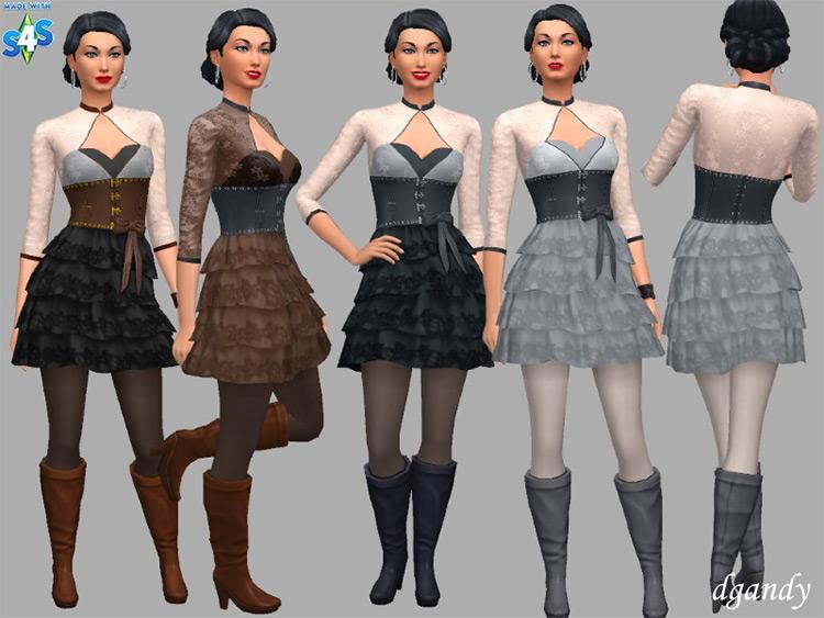 Vera Steampunk Pack / Sims 4 CC