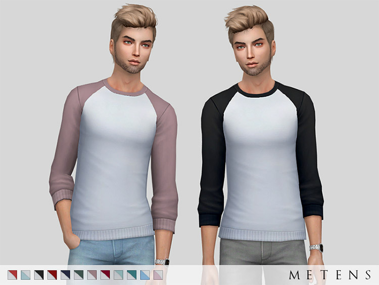 Hollister Sweater CC Pack for Sims 4