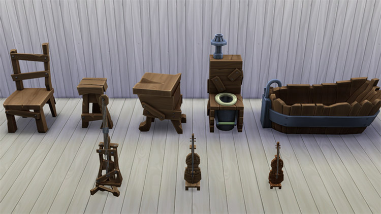 Animal Crossing Challenge Mod Preview for TS4