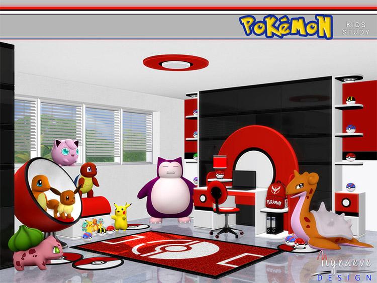 Pokémon Kids Study Room CC / TS4