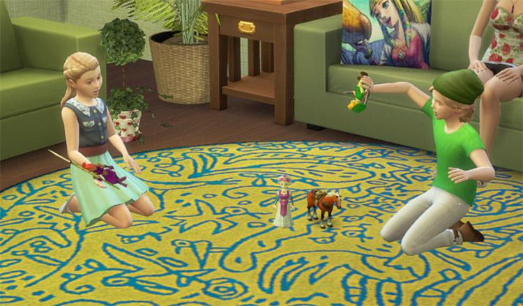 Legend of Zelda CC Set / Sims 4