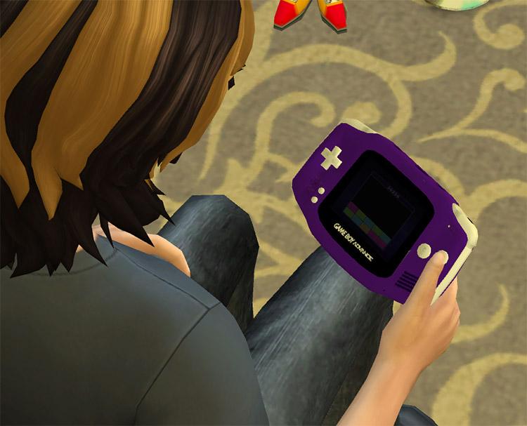 Usable Nintendo GBA for The Sims 4