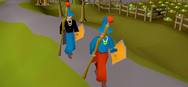 F2P Gear & Armour Equipped in Old School RuneScape