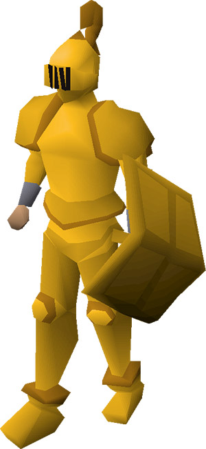 Gilded Armour Set Preview in OSRS