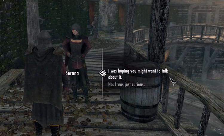 Marry Me Serana Mod / Skyrim