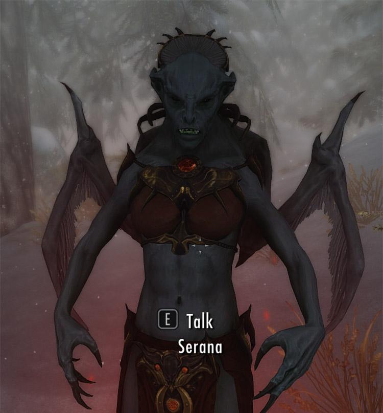 Vampire Lord Serana Mod Preview
