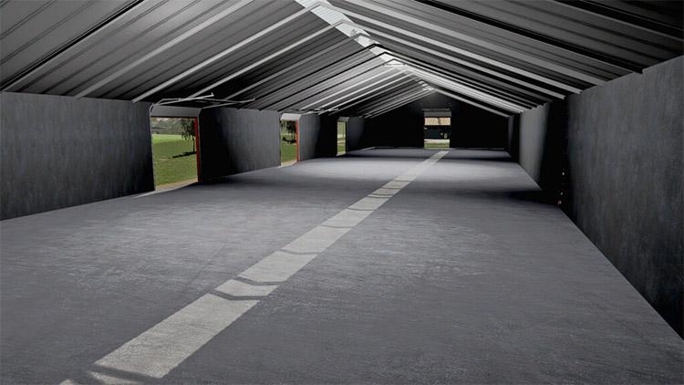 Large Hall Mod Interior in FS19