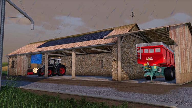 Maintenance Garage Building Mod in FS19