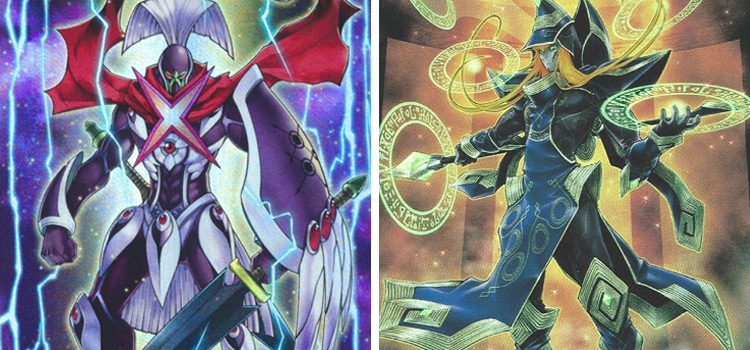 Number XX DarkInfinity and Quintet Magician YGO
