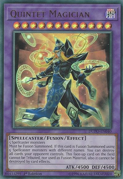 Quintet Magician Yu-Gi-Oh Card