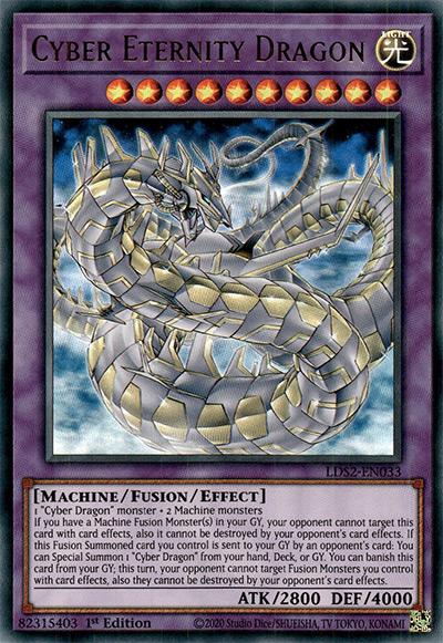 Cyber Eternity Dragon YGO Card