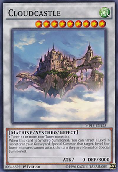 Cloudcastle Yu-Gi-Oh Card