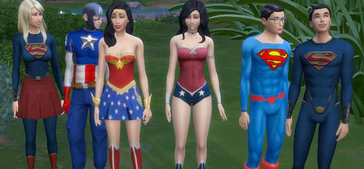 Sims 4 Superhero CC: Clothes, Costumes & More
