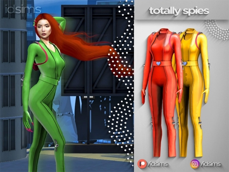 Totally Spies CC for The Sims 4