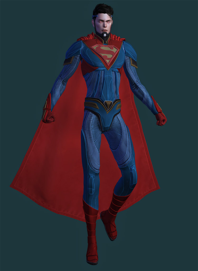 Superman realistic outfit CC / The Sims 4