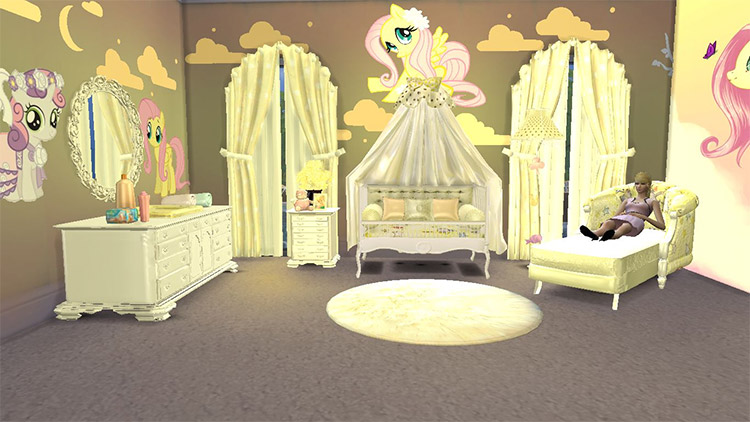 Sweet Dreams Nursery CC Set for The Sims 4