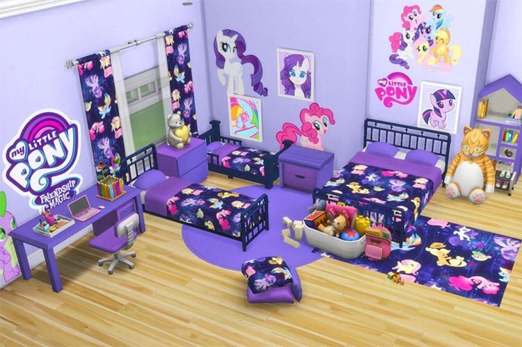 Custom MLP Bedroom CC Set / TS4
