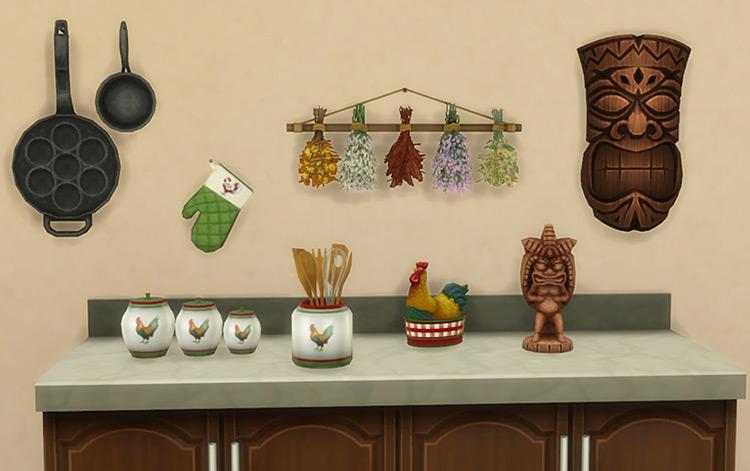 Seasons Deco CC for Sims 4