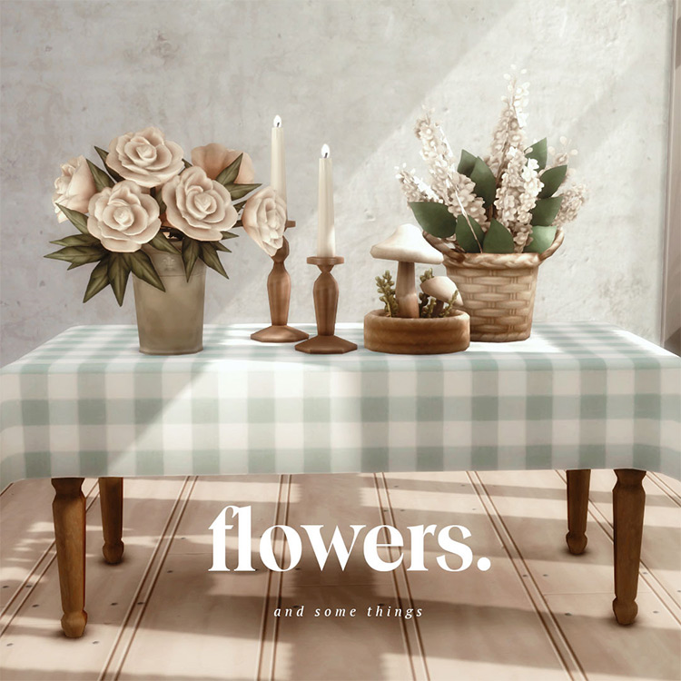 Flowers and Some Things / TS4 CC