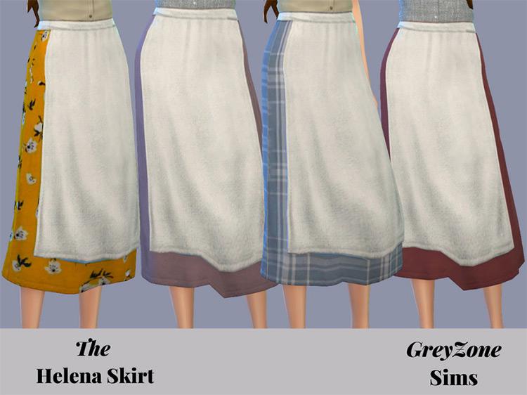 Helena Apron Skirt / TS4 CC