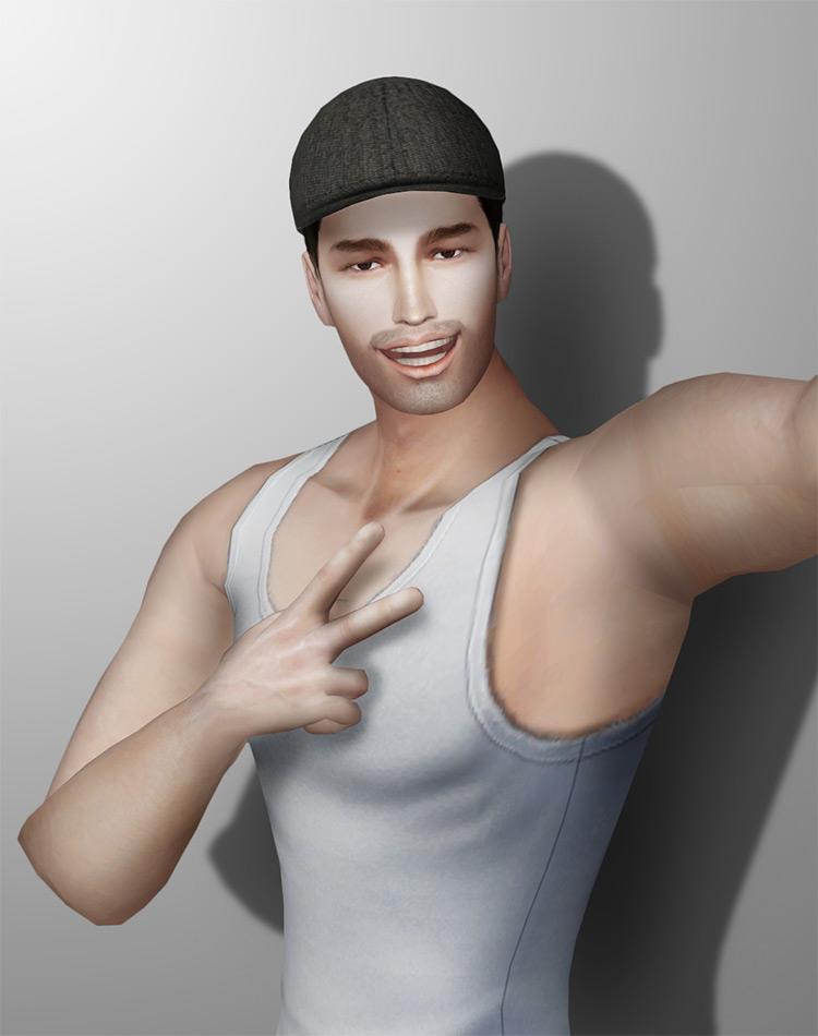 Hunting Cap / Sims 4 CC