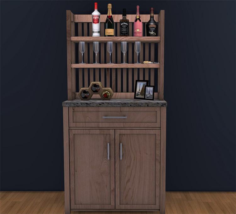 Hallway Table Console / Sims 4 CC
