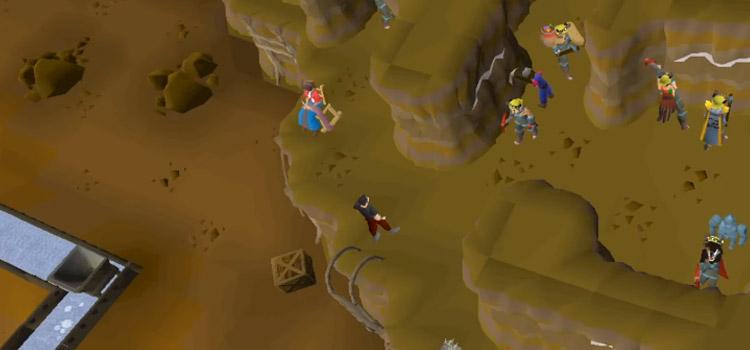 Motherlode Mine overhead screenshot from Old School RuneScape