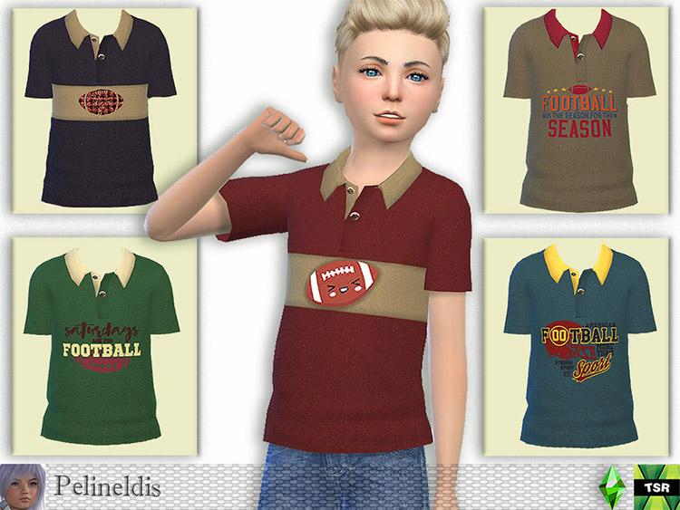 Football Polo / Sims 4 CC