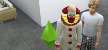 Tragic Clown Spawn in The Sims 4