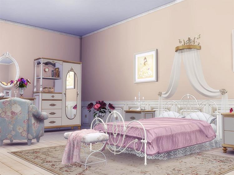 Beauty and the Beast Castle / TS4 Custom Lot
