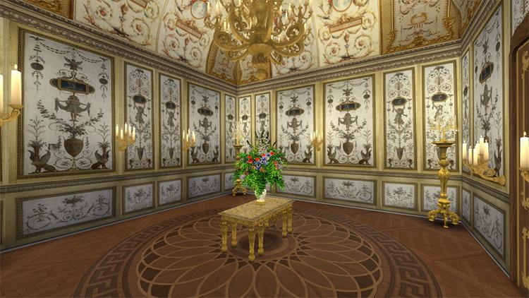 Fontainebleau Boiserie CC For Sims 4