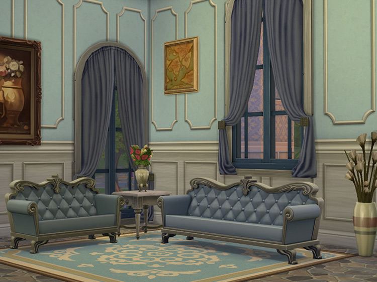 Cinderella's Castle for The Sims 4