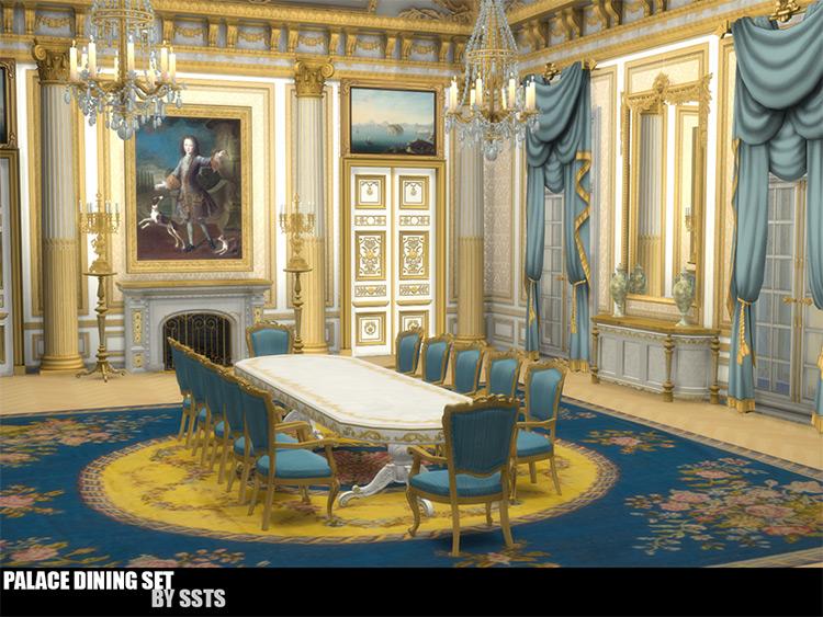 Palace Dining Set / Sims 4 CC