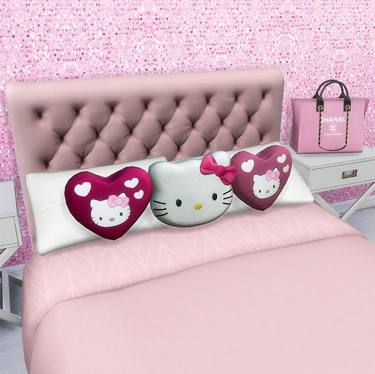 Hello Kitty Pillow Plushies for The Sims 4